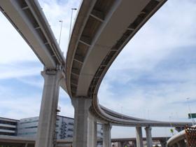 阪神高速 三宝JCT